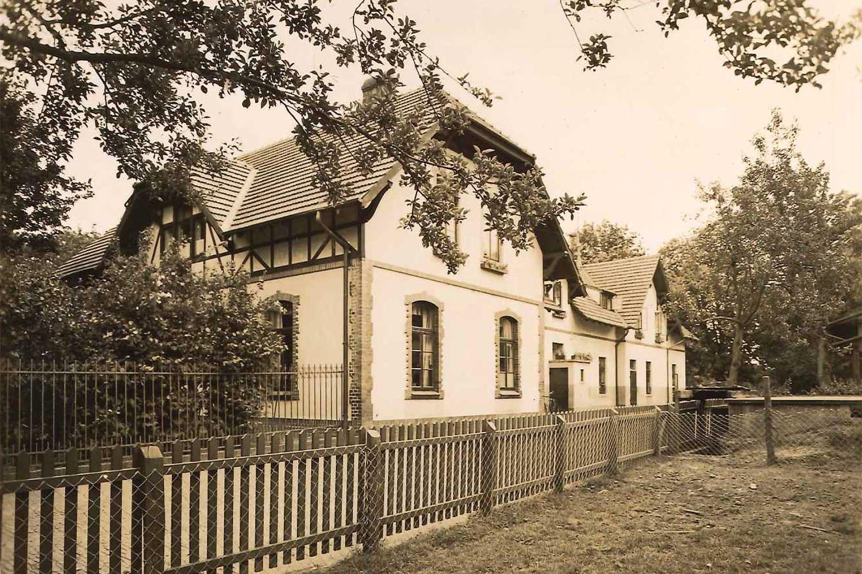 Hauptgebäude um 1938